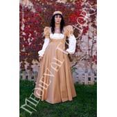 Mittelalter Kleid Frau Juana