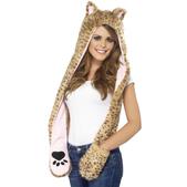 Gorro de leopardo