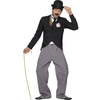 Disfraz de estrella televisiva de los años 20 para hombre