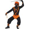 Disfraz de superhéroe ninja para hombre