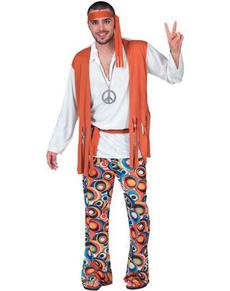 Disfraz de chico hippie