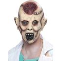 Máscara de zombie tras autopsia