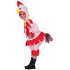 Disfraz de gallina niña