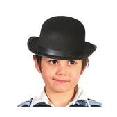 Chapeau melon noir pour garçon