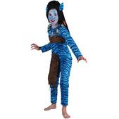 Disfraz de guerrera jungla niña