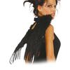 Alas negras de plumas