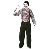 Disfraz de mimo asesino