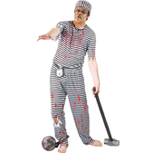 Disfraz de presidiario zombie