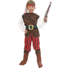 Disfraz de corsario rojo para niño