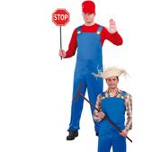 Déguisement de mécanicien de train Mario