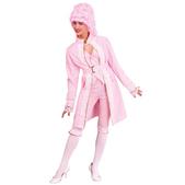 Disfraz de marquesa rosa