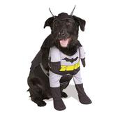 Disfraz de Batman Gris para perro