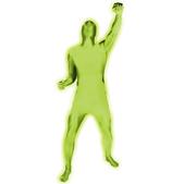 Disfraz verde luminoso Morphsuit