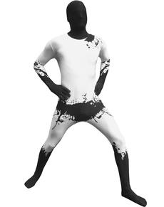 Disfraz de salpicadura negra Morphsuit
