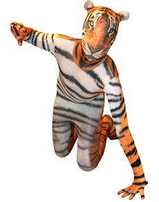 Disfraz de tigre Morphsuit