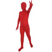 Disfraz rojo Morphsuits infantil