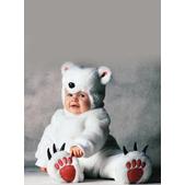 Disfraz de oso polar Tom Arma para bebé