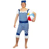 Disfraz de bañista adulto