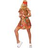 Disfraz de hippie graciosa