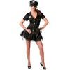 Disfraz de mujer policía americana