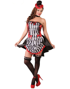 Disfraz de chica burlesque