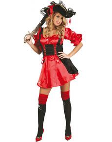Disfraz de pirata provocativa