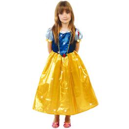 Disfraz de princesa de las nieves para niña