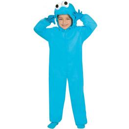 Disfraz de monstruo azul infantil