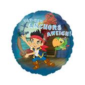 Globo redondo de Jake y los piratas de Nunca Jamás