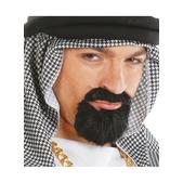 Perilla y bigote árabe