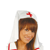 Tocado de enfermera de tela