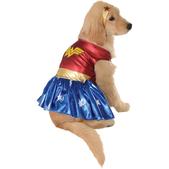 Costume de Wonder Woman haut de gamme pour chien