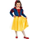Disfraz de princesa de las nieves niña