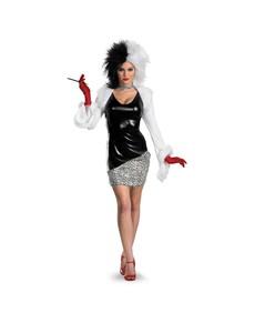 Disfraz de Cruella De Vil sexy
