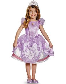 Disfraz de La Princesa Sofía deluxe para niña