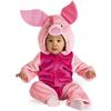 Disfraz de Piglet Winnie the Pooh deluxe para bebé