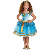 Disfraz de Mérida tutú prestige para niña