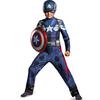 Disfraz de Capitán América Soldado de Invierno classic para niño