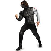 Disfraz del Soldado de Invierno musculoso