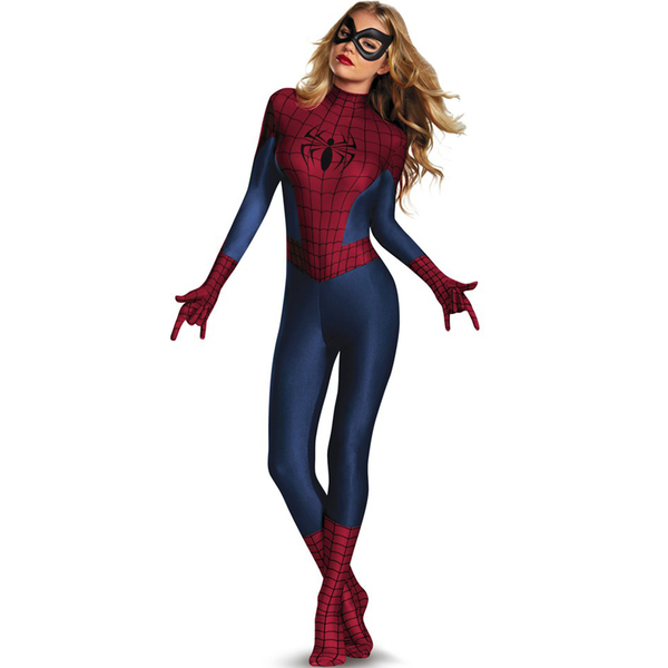 Second Skin Sexy SpiderGirl Adult Costume: buy online at Funidelia.