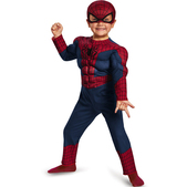Disfraz The Amazing Spiderman 2 antifaz para niño