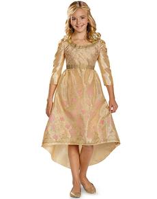 Disfraz de Aurora Coronación Maléfica para niña