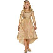 Costume d'Aurore couronnement Maléfique pour fille