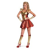 Disfraz de Pepper Potts Iron Man 3 sexy para mujer
