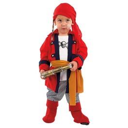 Disfraz de pirata bucanero bebé