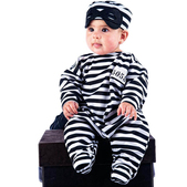 Disfraz de nana preso bebé