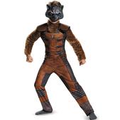 Disfraz de Rocket Raccoon Guardianes de la Galaxia deluxe para niño