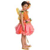 Disfraz de hada de las flores para niña