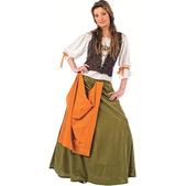 Costume d'aubergiste médiévale Agnès