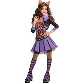 Disfraz de Clawdeen Wolf deluxe Monster High